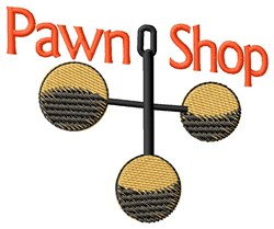 Pawn Shop embroidery design