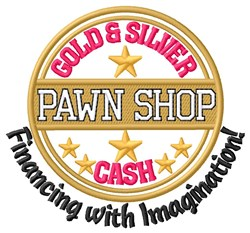 Financing With Imagination embroidery design