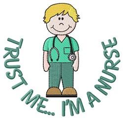 Im a Nurse embroidery design