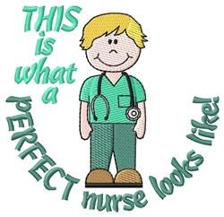 Perfect Nurse embroidery design