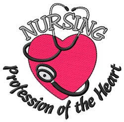 Profession of the Heart embroidery design