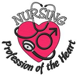 Nursing Profession embroidery design