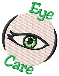 Eye Care embroidery design