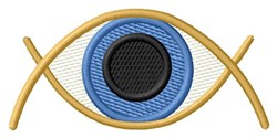 Eye Ball embroidery design
