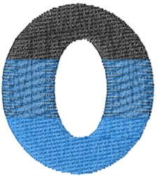 Small Toga Omicron embroidery design