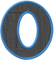 Toga Omicron embroidery design