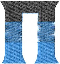 Small Toga Pi embroidery design