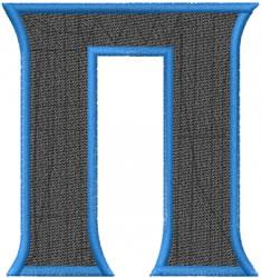 Toga Pi embroidery design