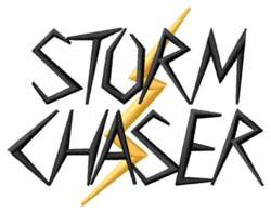 Storm Chaser embroidery design