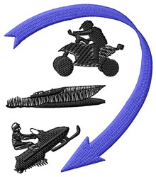 Speed Racing Logo embroidery design