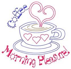 Morning Pleasure embroidery design