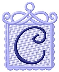 FSL Ornament C embroidery design
