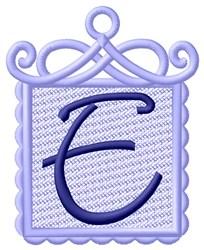 FSL Ornament E embroidery design