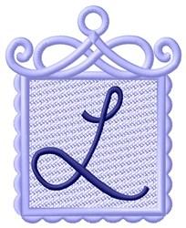 FSL Ornament L embroidery design