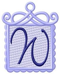 FSL Ornament W embroidery design