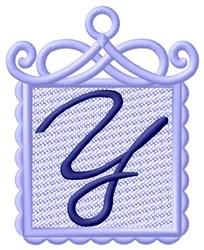 FSL Ornament Y embroidery design