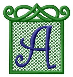 Embossed Square A embroidery design