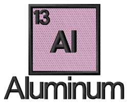 Aluminum embroidery design
