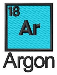 Argon embroidery design