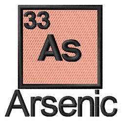 Arsenic embroidery design