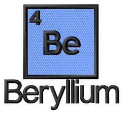 Beryllium embroidery design