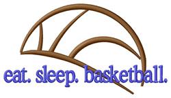 Basketball (Abstract Ball) embroidery design