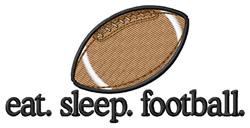 Football (Ball) embroidery design