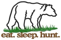 Hunt (Bear) embroidery design