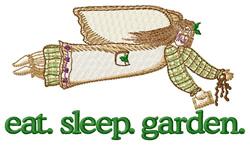 Garden (Angel) embroidery design