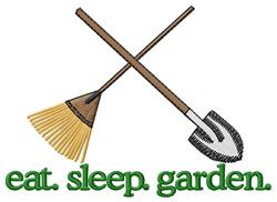 Garden (Tools) embroidery design