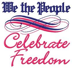 Celebrate! embroidery design