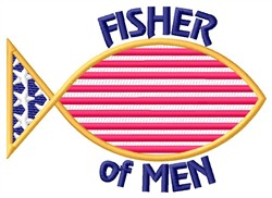 Fisher Of Men embroidery design
