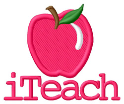 iTeach 1 embroidery design