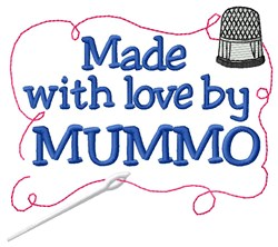 Made By Mummo embroidery design