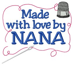 Made By Nana embroidery design