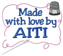 Made By Aiti embroidery design