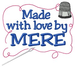 Made By Mere embroidery design