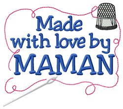 Made By Maman embroidery design