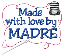 Made By Madre embroidery design