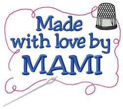 Made By Mami embroidery design