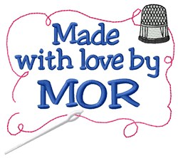Made By Mor embroidery design