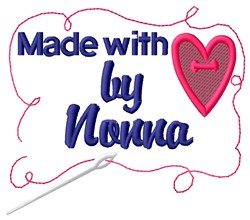 Made By Nonna embroidery design