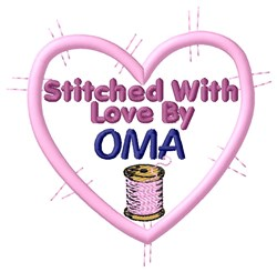 Stitched By Oma embroidery design