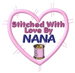 Stitched  By Nana embroidery design