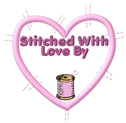 Stitched By embroidery design