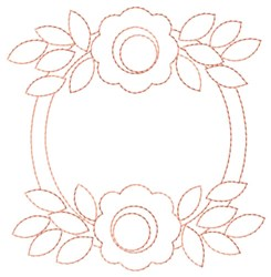 Flower Duo embroidery design