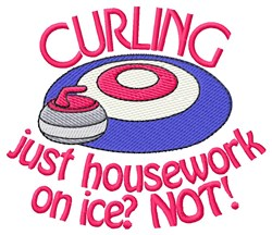 Just Housework embroidery design