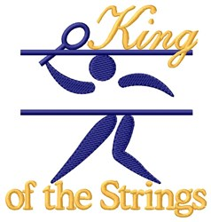King Strings embroidery design