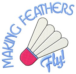 Feathers Fly embroidery design