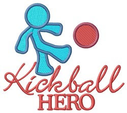 Kcikball Hero embroidery design